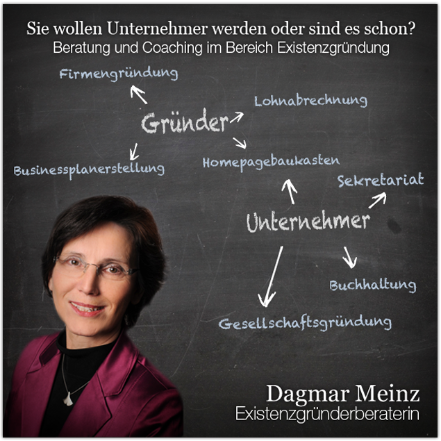Dagmar Meinz - Existenzgründerberaterin